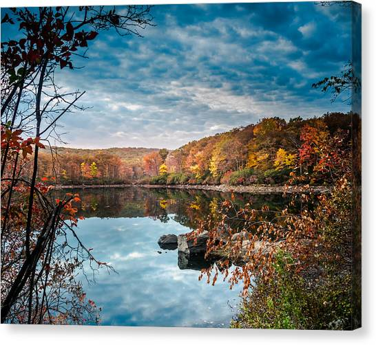 Autumn In Harriman State Park Canvas Print
