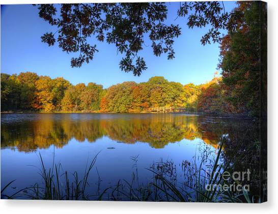 Autumn In Heaven Canvas Print