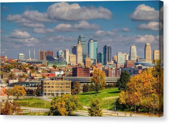 Autumn In Kansas City Canvas Print