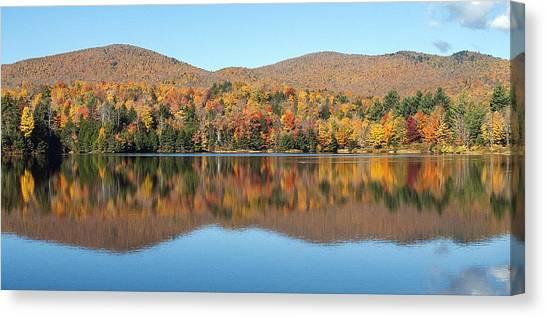 Autumn In Killington Vermont Canvas Print by Bruce Neumann
