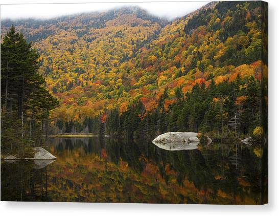 Autumn In Kinsman Notch Canvas Print