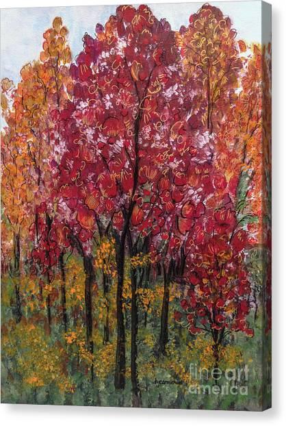 Autumn In Nashville Canvas Print