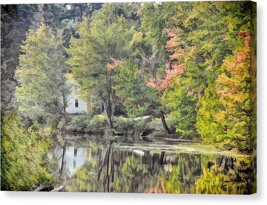 Autumn In Pastel Canvas Print