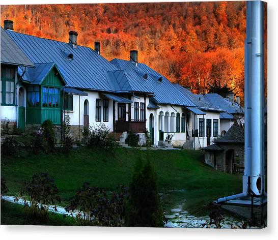 Autumn In Romania Canvas Print