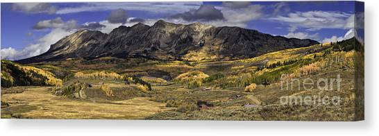 Autumn In The Valley Canvas Print