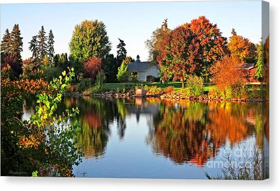 Autumn In Wisconsin Canvas Print
