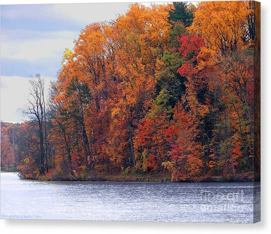 Autumn Is Upon Us Canvas Print
