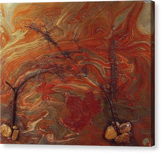 Autumn Leaves Canvas Print by Patrick Mock