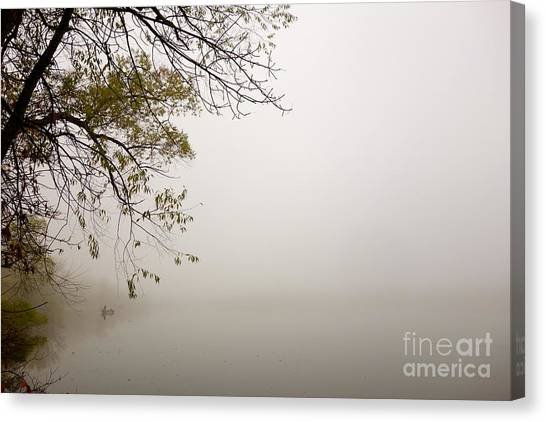 Autumn Mist Canvas Print