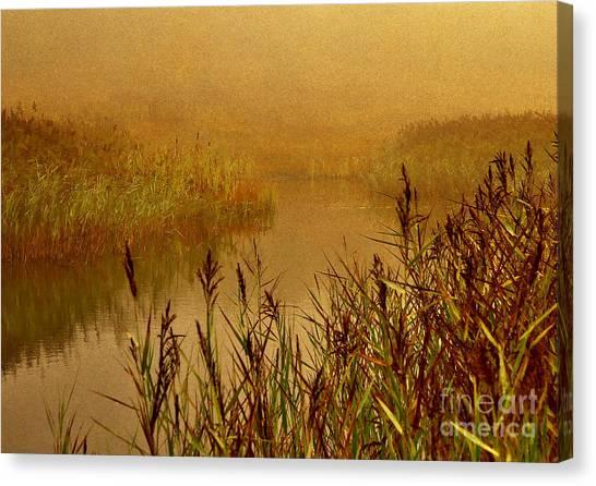 Autumn Mist Canvas Print