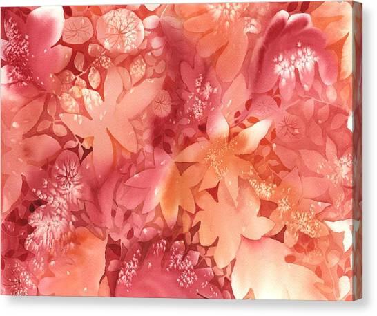 Autumn Canvas Print - Autumn Monochrome by Neela Pushparaj