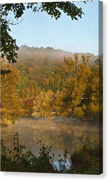 Autumn Morning In Coventry Canvas Print