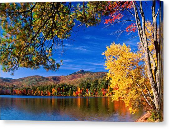 Autumn Mt Chocorua Nh Canvas Print