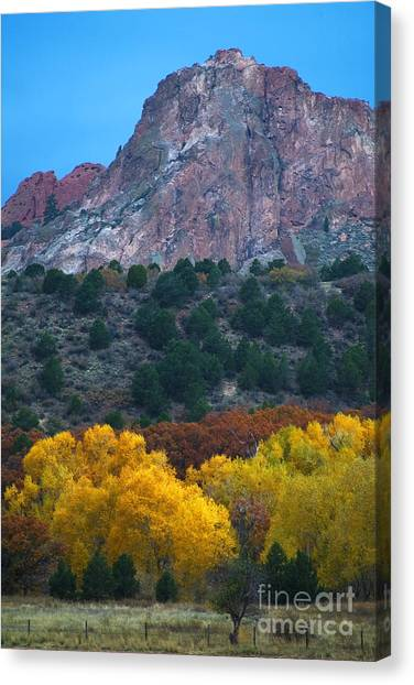 Autumn Of The Gods Canvas Print