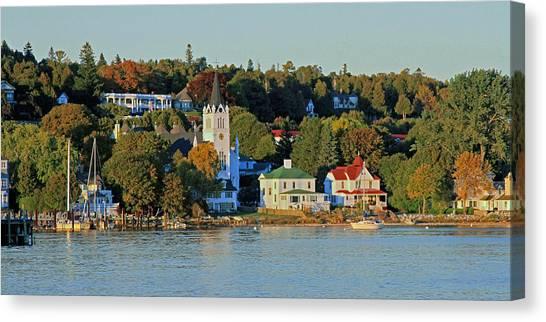 Autumn On Mackinac Island Canvas Print