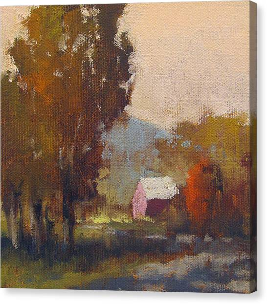 Robert Frank Canvas Print - Autumn On The Farm by Robert Frank