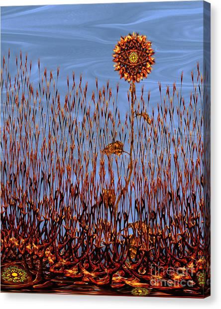 Autumn On Venus Canvas Print