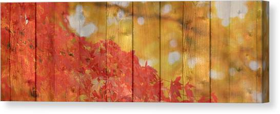 Autumn Outdoors 1 Of 2 Canvas Print
