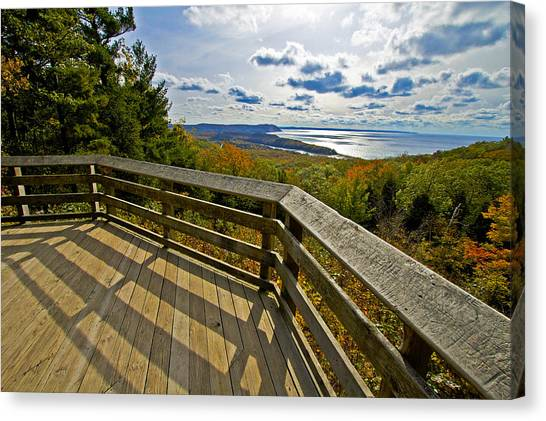 Autumn Overlook Canvas Print