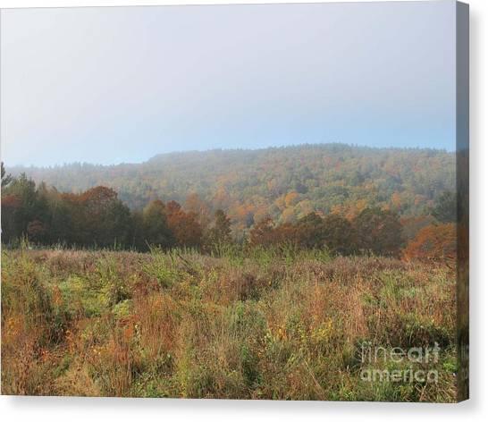 Autumn Pasture Canvas Print by Linda Marcille
