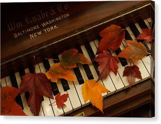 Autumn Piano 14 Canvas Print