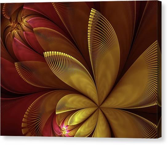 Autumn Plant Canvas Print