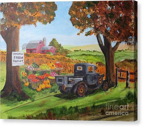 Autumn Pleasures Canvas Print