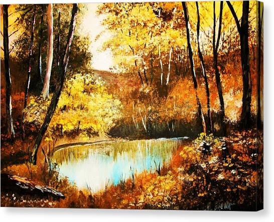 Changing Of The Season Canvas Print