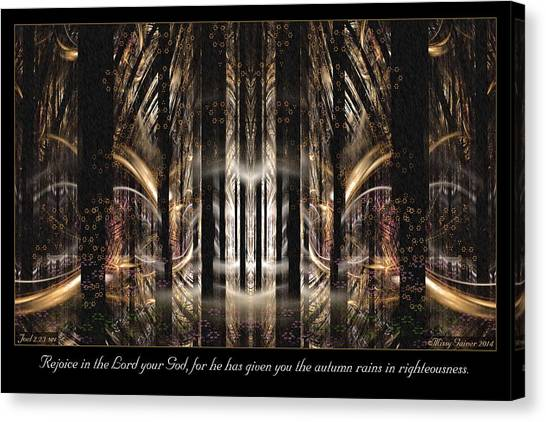 Autumn Rains Canvas Print