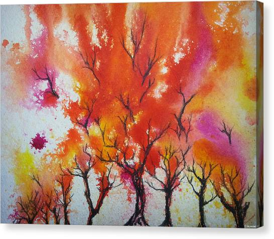 Autumn Riot Canvas Print