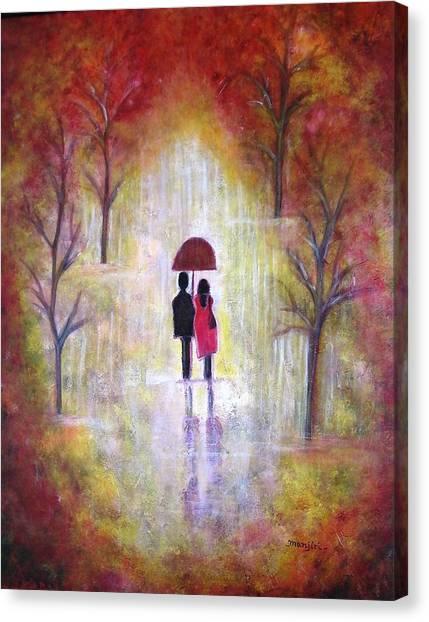 Autumn Romance Canvas Print