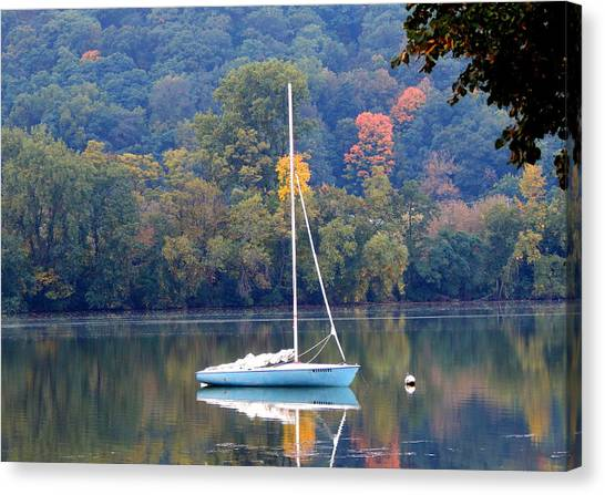 Autumn Sails Canvas Print