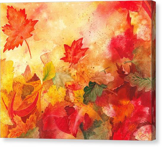Irina Canvas Print - Autumn Serenade  by Irina Sztukowski
