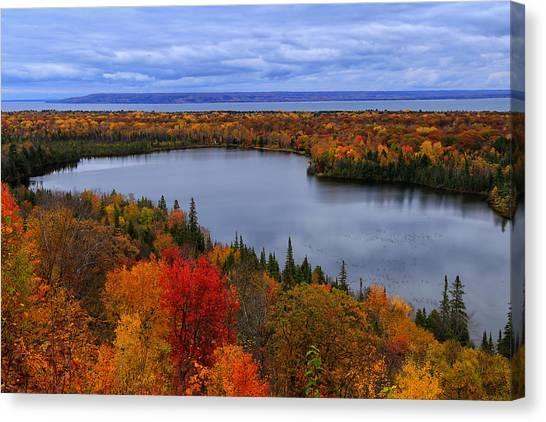 Autumn Spectacle  Canvas Print