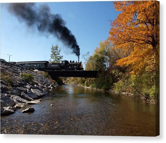 Autumn Steam Canvas Print