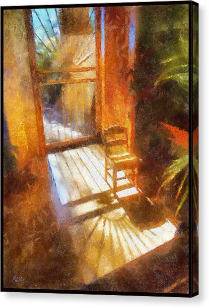 Autumn Sun Canvas Print by Rick Lloyd