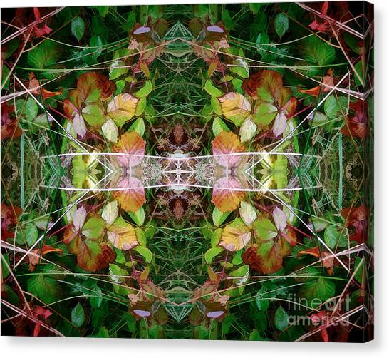 Autumn Symmetry Canvas Print