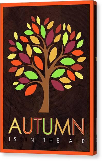 Autumn Canvas Print - Autumn Tree by Tammy Apple
