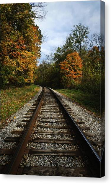 Autumn View Canvas Print