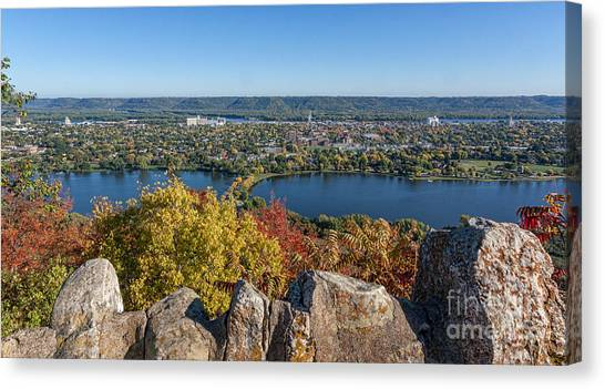 Autumn View From Garvin Heights Canvas Print