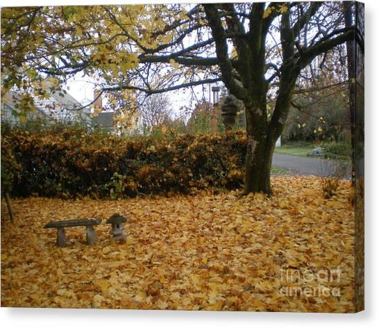 Autumn Zen Canvas Print