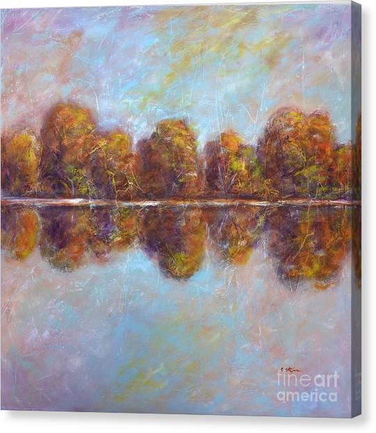 Autumnal Atmosphere Canvas Print