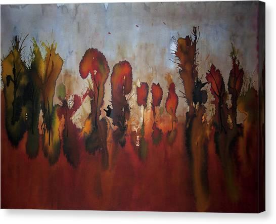Autumno V Canvas Print by Laura Benavides Lara