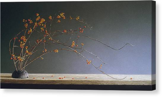 Autumns Bittersweet Canvas Print by Barbara Groff