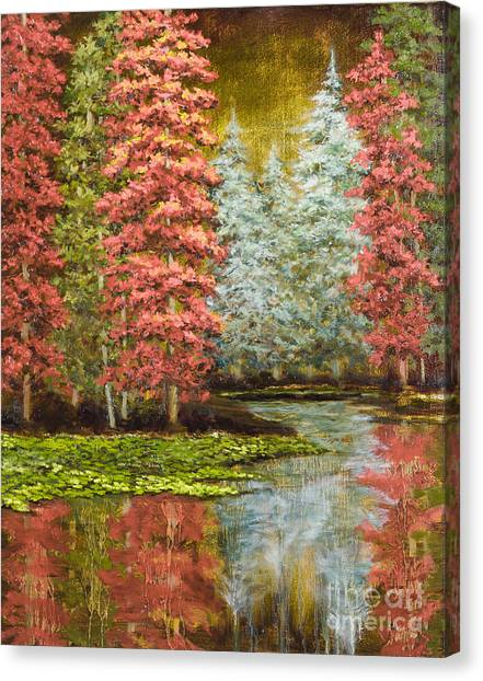 Autumn's Brilliance Canvas Print