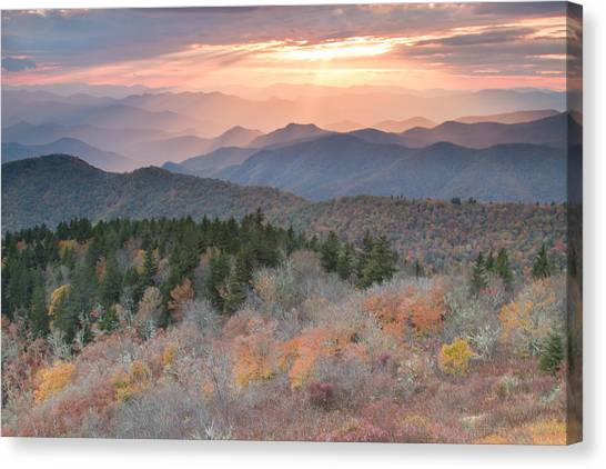 Autumn's Resplendence Canvas Print by Doug McPherson