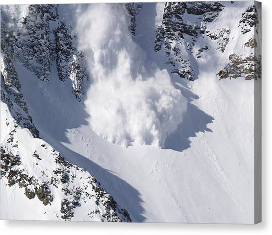 Avalanche II Canvas Print