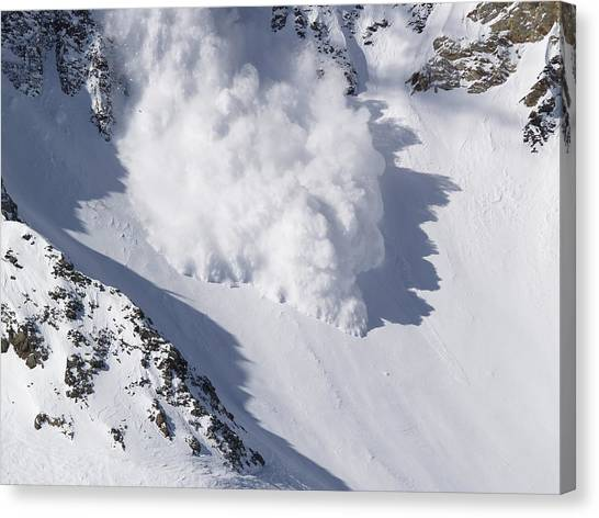 Avalanche IIi Canvas Print