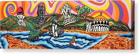 Avalon Bay Canvas Print by Carlos Martinez