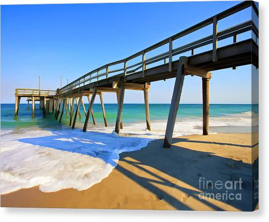 Avalon Pier Canvas Print
